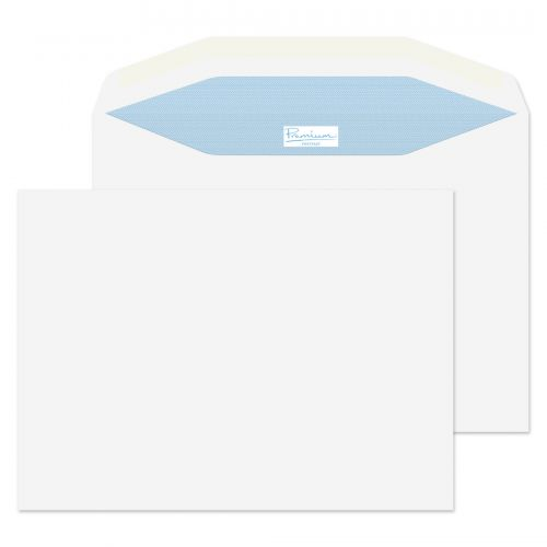 Blake Premium Postfast Mailing Wallet Gum White C5 162x229 90gsm Ref PF707 Pk500 *10 Day Leadtime*