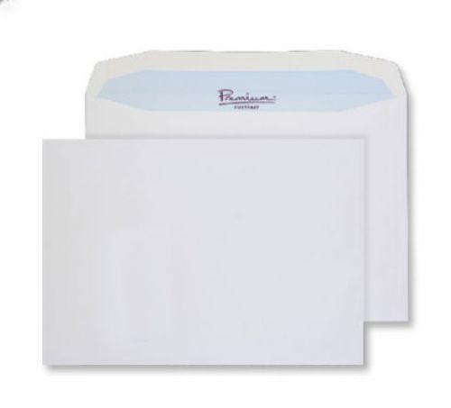 Blake Premium Postfast Mailing Wallet Gum White C4 229x324 100gsm Ref PF709 Pk250 *10 Day Leadtime*
