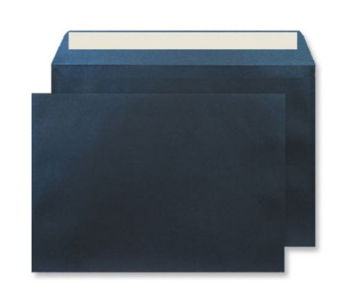 Creative Shine Pearlescent Wallet P&S Midnight Blue 120gsm C4 Ref PL433 Pk125 *10 Day Leadtime*