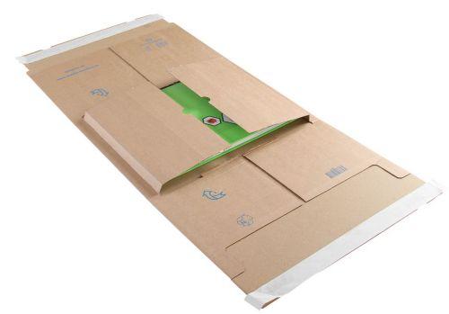 Blake Purely Packaging Kraft Peel & Seal Postal Wrap 350X320X99mm 120 Pack 25 Code Ppw65 3P