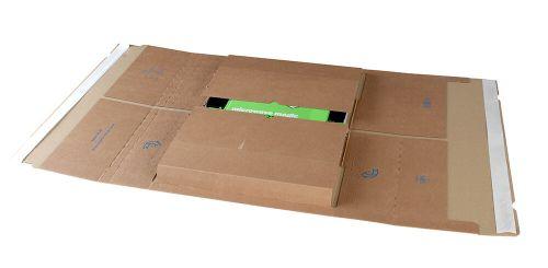 Blake Purely Packaging Kraft Peel & Seal Postal Wrap 455X320X99mm 120 Pack 25 Code Ppw68 3P