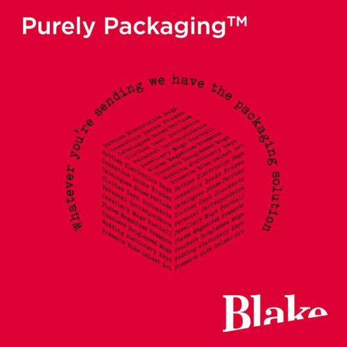 Blake Purely Packaging Jet Black Peel & Seal Pocket 90x145mm 70Mu Pack 100 Code MTB90