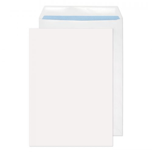 Purely Environmental Pocket Self Seal White 100gsm C4 324x229mm Ref RD7891 Pk 250 *10 Day Leadtime*