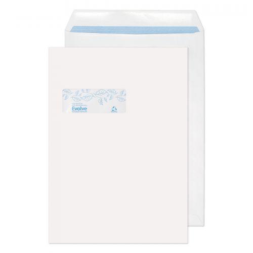 Purely Environmental Pocket Self Seal Wndw White 100gsm C4 Ref RD7892 Pk250 *10 Day Leadtime*