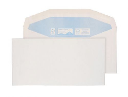 Purely Environmental Mailer Gummed White 90gsm DL+ 114x229mm Ref RN0012 Pk 1000 *10 Day Leadtime*