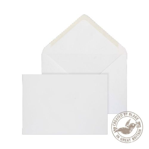 Blake Purely Environmental White Gummed Banker Invitation 114X162mm 90Gm2 Pack 1000 Code Rn003 3P