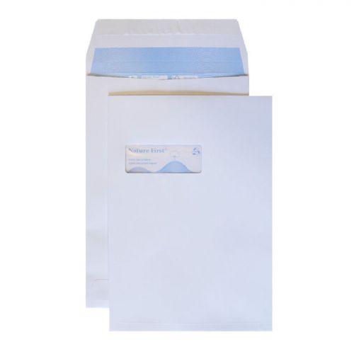 Blake Purely Environmental White Window P&S Gusset  Pocket 324X229X25 140G Pk125 Code Rn091 3P