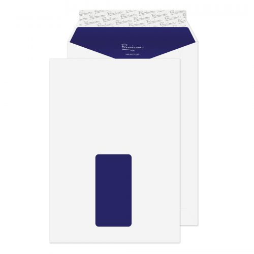 Blake Premium Pure Envelopes Pocket Peel & Seal Window 120gsm C5 Super White Wove Ref RP83084 [Pack 500]