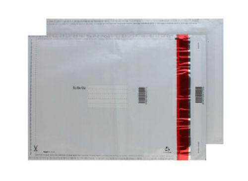 Blake Purely Packaging White/Black Co-Ex Ld P&S Po lythene Pocket 430X330 70Mu Pk500 Code Se1020 3P