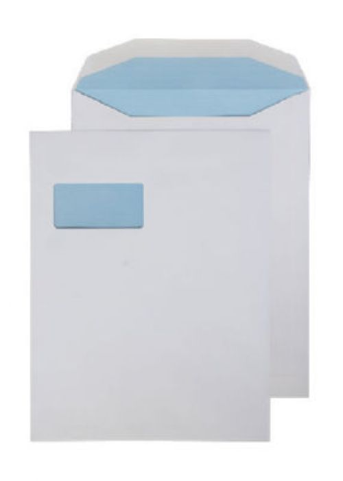 Purely Everyday Mailer Gummed High Window White 100gsm 310x238mm Ref SI-90 Pk 250 *10 Day Leadtime*