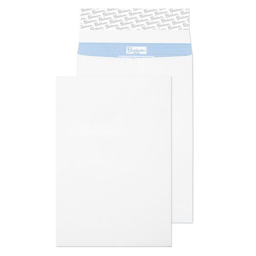 Blake Premium Secure Pocket Window P&S White C4 324X229X25 125gsm Ref TR9904 [Pack 20] *10 Day Leadtime*