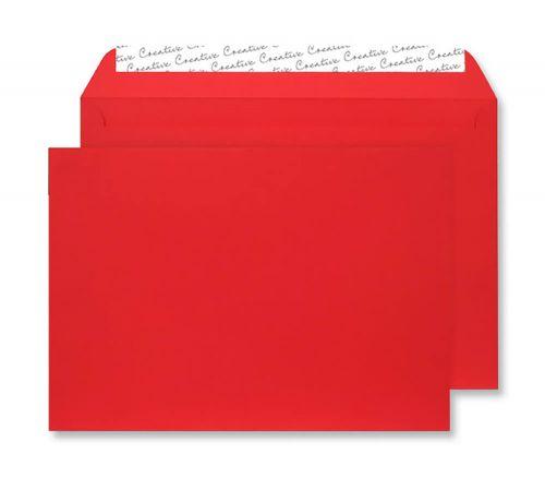 Blake Creative Senses Red Velvet Peel & Seal Wallet 162X229mm 140Gm2 Pack 125 Code V643 3P