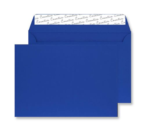 Blake Creative Senses Blue Velvet Peel & Seal Wallet 229X324mm 140Gm2 Pack 125 Code V744 3P