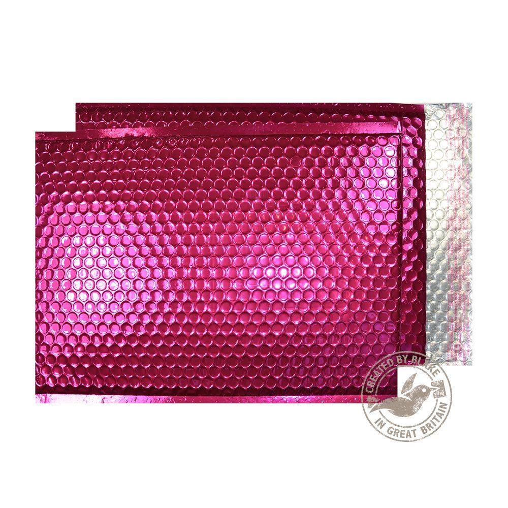 Blake Purely Packaging Party Pink Peel & Seal Padded Bubble Pocket 450x324 70Mu Pk50 Code MBP450