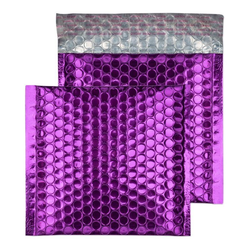 Blake Purely Packaging Purple Grape P&S Padded Bubble Wallet 165x165 70Mu Pk100 Code MBPUR165