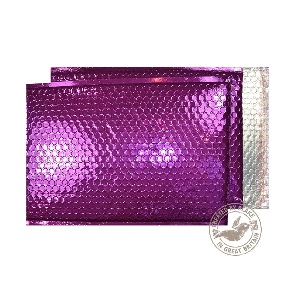 Blake Purely Packaging Purple Grape P&S Padded Bubble Pocket 450x324 70Mu Pk50 Code MBPUR450