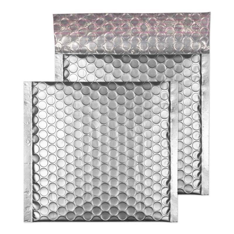 Blake Purely Packaging Metallic Silver P&S Padded Bubble Wallet 165x165 70Mu Pk100 Code MTA165
