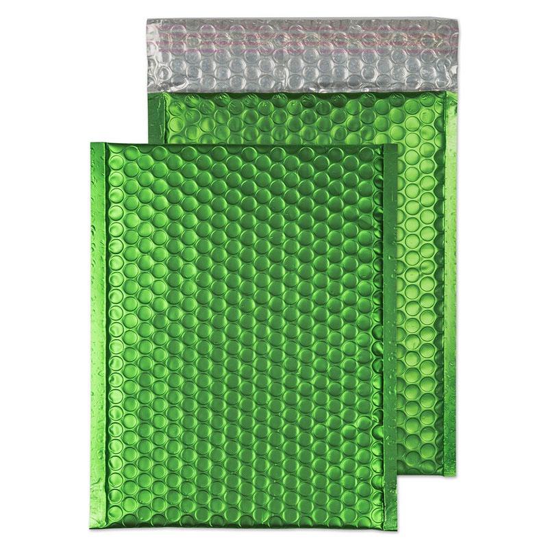 Blake Purely Packaging Avocado Green P&S Padded Bubble Pocket 250x180 70Mu Pk100 Code MTGRE250