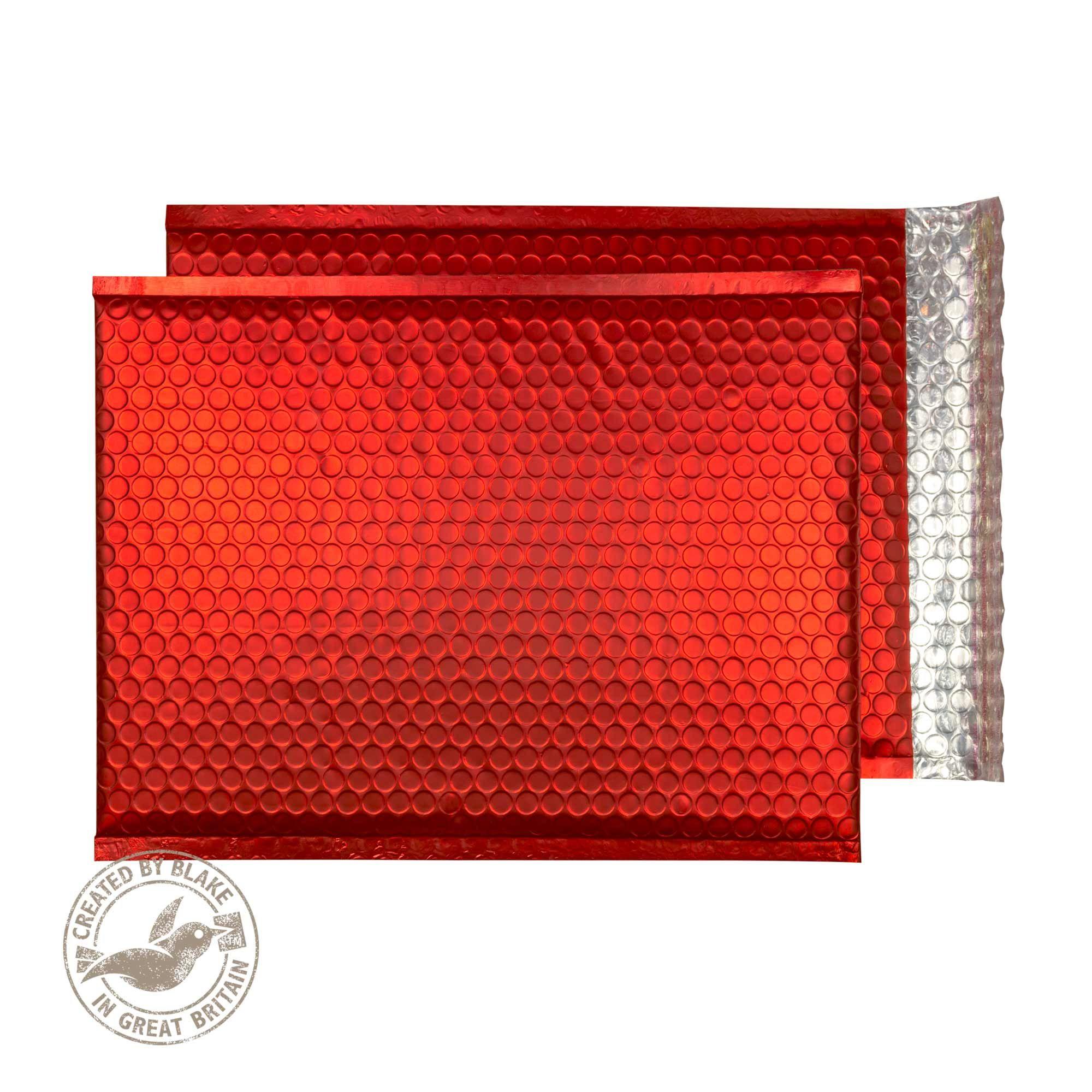 Blake Purely Packaging Pillar Box Red Peel & Seal 324x230mm 70Mu Pack 100 Code MTPBR324