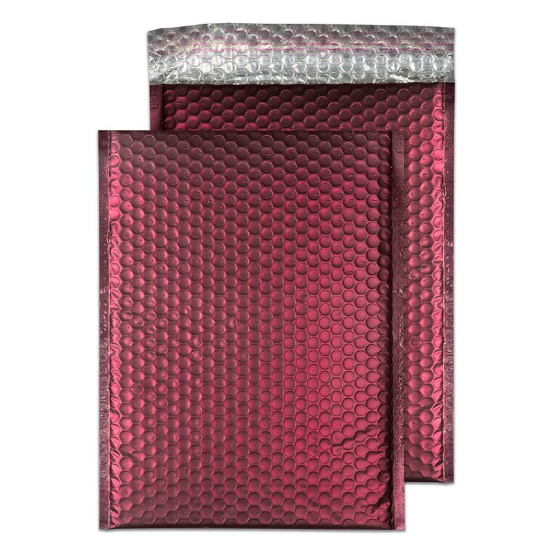 Blake Purely Packaging Bordeaux Peel & Seal Padded Bubble Pocket 324x230 70Mu Pk100 Code MTWR324