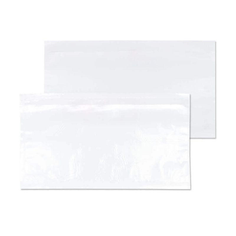 Blake Purely Packaging Clear Peel & Seal Wallet 235x132mm 30Mu Pack 1000 Code PDE30