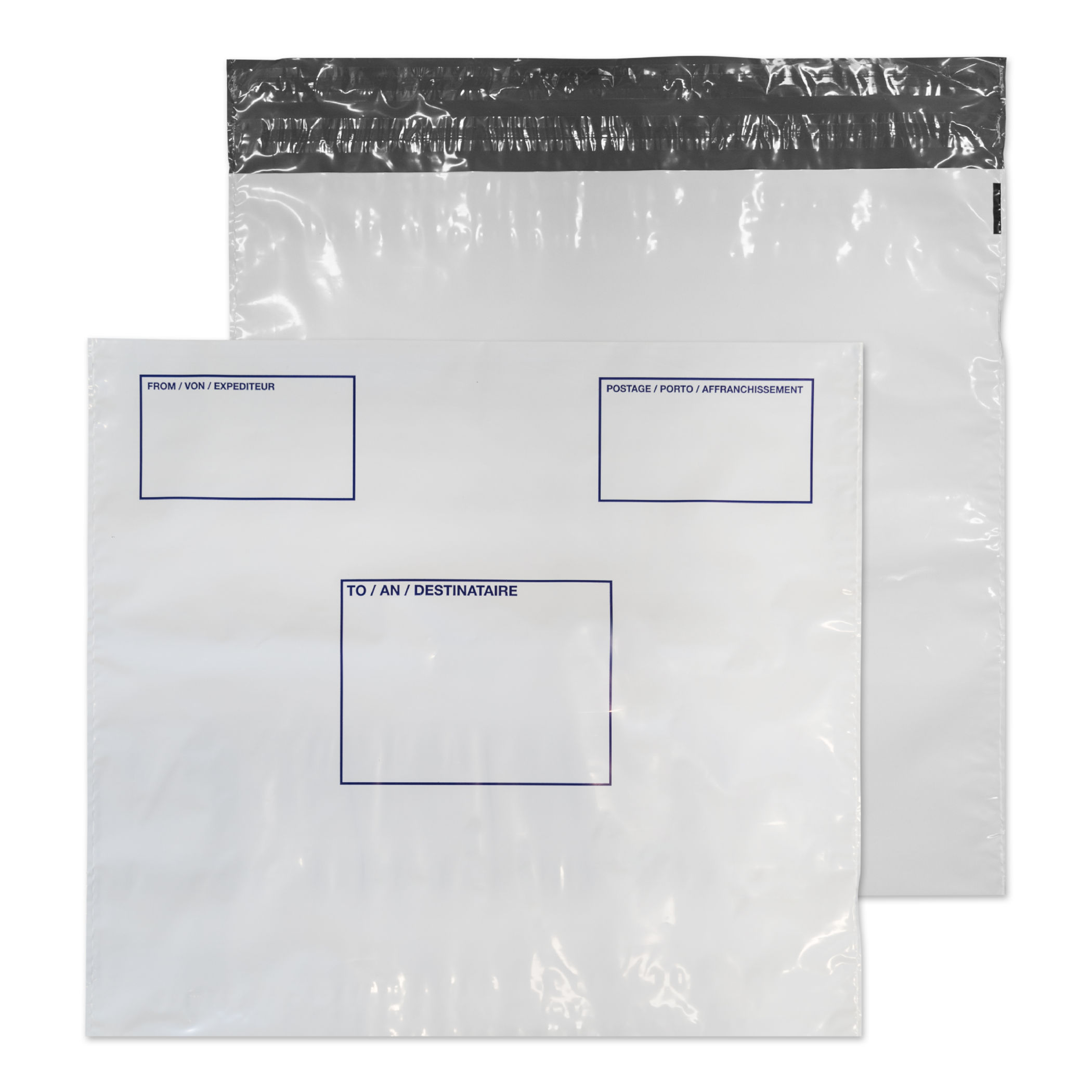 Premium Envelopes Blake Poly Mailer With Address Panel 430x460 P&S PK100
