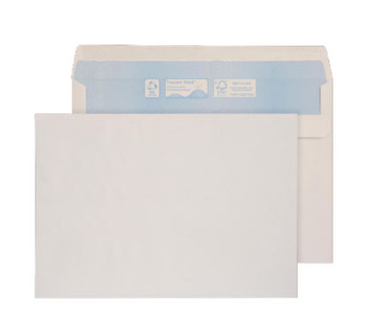 C5 Purely Environmental Wallet Self Seal White 90gsm C5 PK500