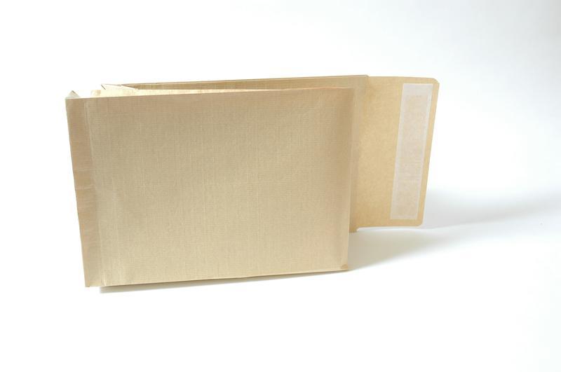Gusset Envelopes New Guardian Armour Peel & Seal Gusset 50mm Kraft Manilla C4 PK100