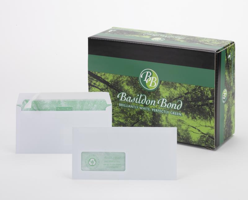 Basildon Bond Wallet Peel and Seal Wndow 120gsm WT DL PK500