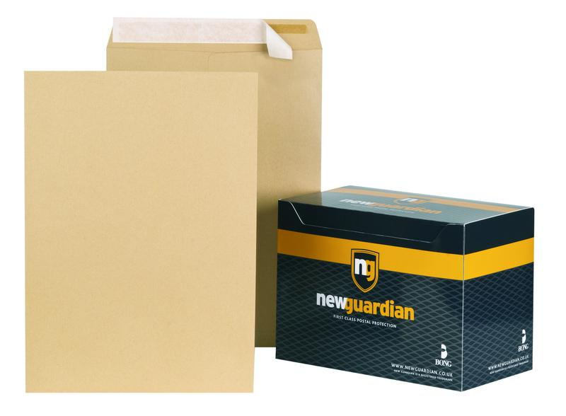 New Guardian Envelopes Hvyweight Pocket P&S Manilla C3 PK125
