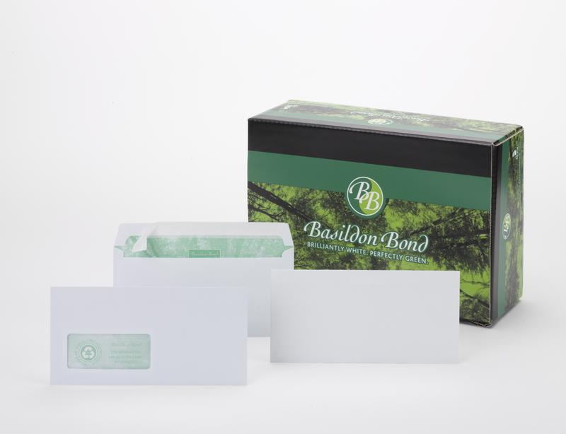 Basildon Bond Wallet Peel and Seal 120gsm White DL PK500