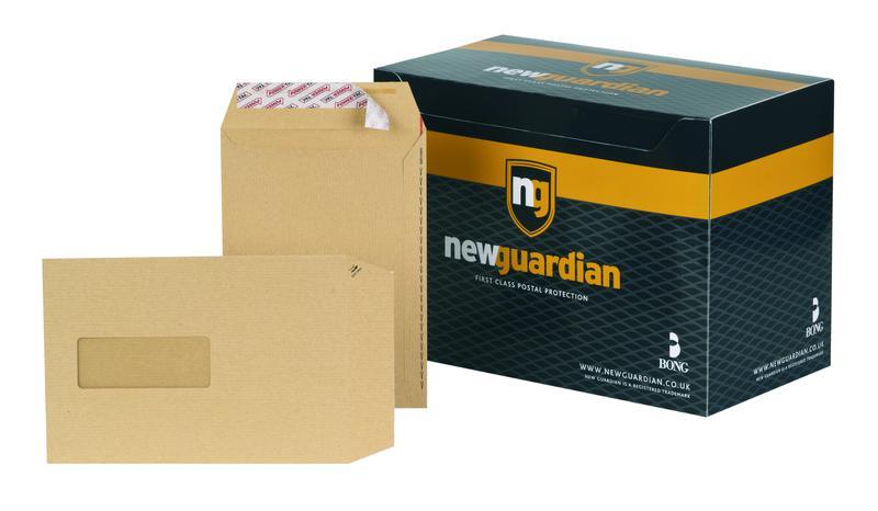 C5 New Guardian Envelope Easy-Open C5 Window Manilla PK250