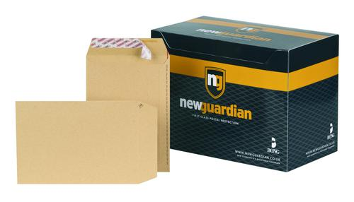 New Guardian Envelopes Hvyweight Pocket P&S Manilla C5 PK250
