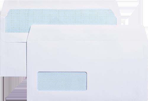 Blue Label Wallet Envelope DL Self Seal Window PK1000