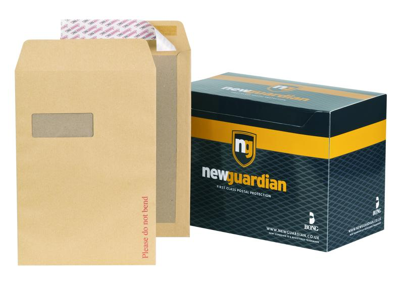 New Guardian Hvywght Brd-backed Window P&S Manilla C4 PK125