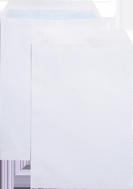 C4 Blue Label Pocket Envelope C4 Self Seal Plain 100gsm White (Pack 250)