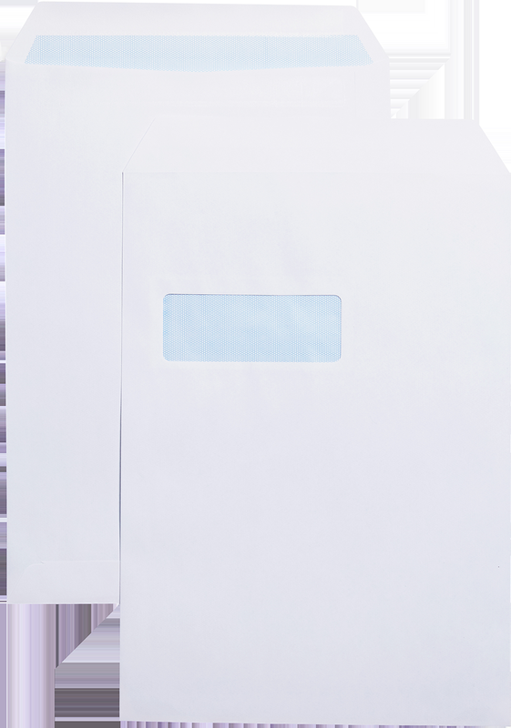 Blue Label Pocket C4 Self Seal Window PK250