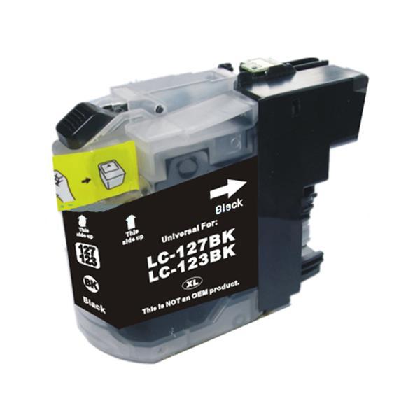 PWD - Cartridge Comp Brother LC123BK Black Std Cap Ink Ctg [LC123BK ]