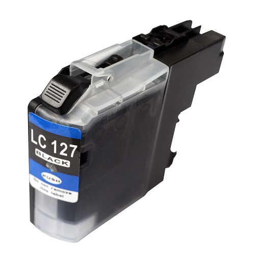 PWD - Cartridge Comp Brother LC127BK Black Hi Cap Ink Ctg [LC127XLBK ]