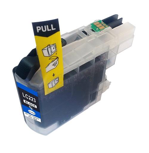 PWD - Cartridge Comp Brother LC223BK Black Std Cap Ink Ctg