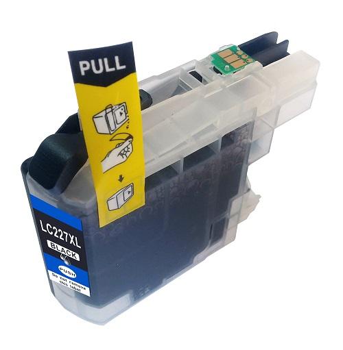 PWD - Cartridge Comp Brother LC227XLBK Black Hi Cap Ink Ctg