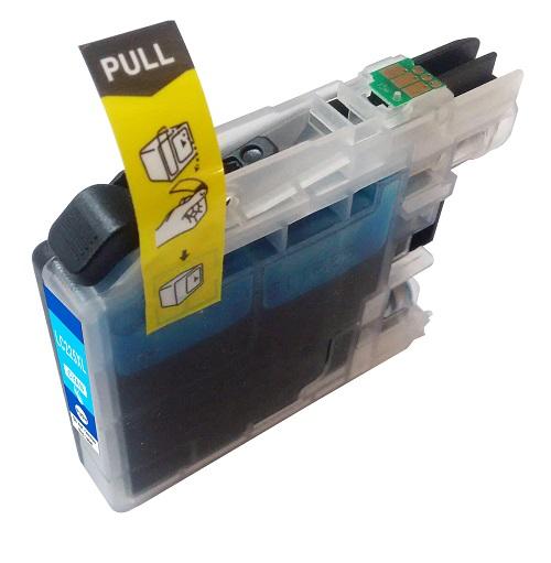 PWD - Cartridge Comp Brother LC225XLC Cyan Hi Cap Ink Ctg