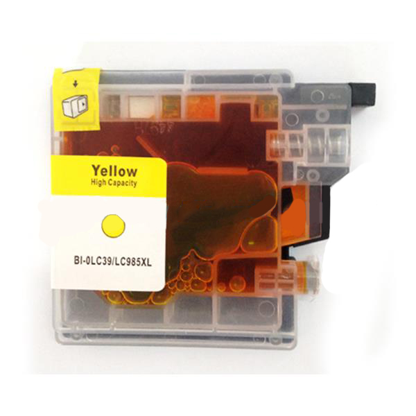 PWD - Cartridge Comp Brother LC985Y Yellow Ink Ctg  [LC985Y]