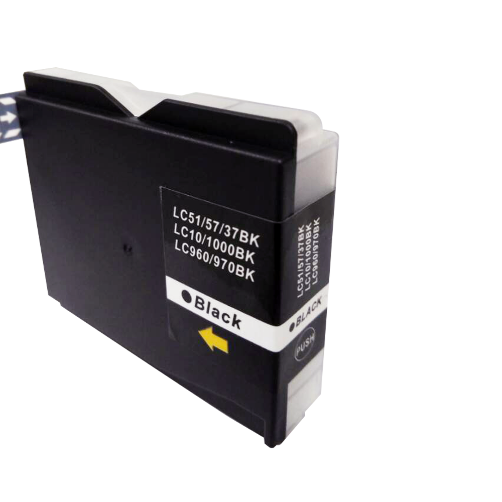 TonerCare-CArtridge Comp Brother MFC240 Black Ink Cartridge LC1000BK also for LC970BK