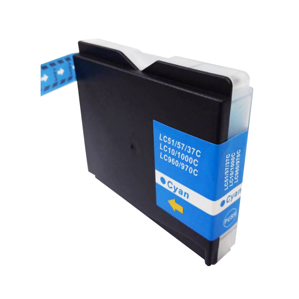 TonerCare-CArtridge Comp Brother MFC240 Cyan Ink Cartridge LC1000C also for LC970C