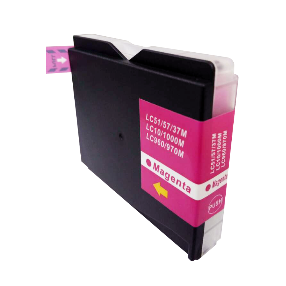 TonerCare-CArtridge Comp Brother MFC240 Magenta Ink Cartridge LC1000M also for LC970m