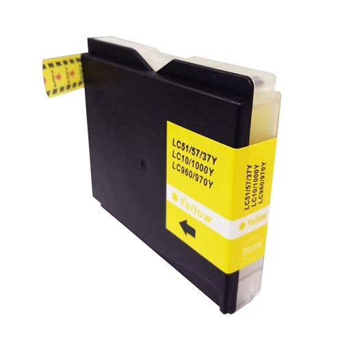 PWD - Cartridge Comp Brother MFC240 Yellow Ink Ctg LC1000Y also for LC970Y  [LCLC960/LC970/LC1000Y]