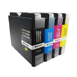 PWD - Cartridge Comp Brother LC1000 Multipack 4 Ink Ctgs  [LC1000BK/C/M/Y]
