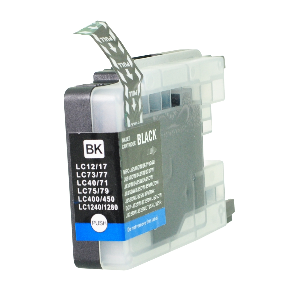 PWD - Cartridge Comp Brother LC1240BK Black Ink Ctg also for LC1280BK LC1220BK [LC1240/1280BK]