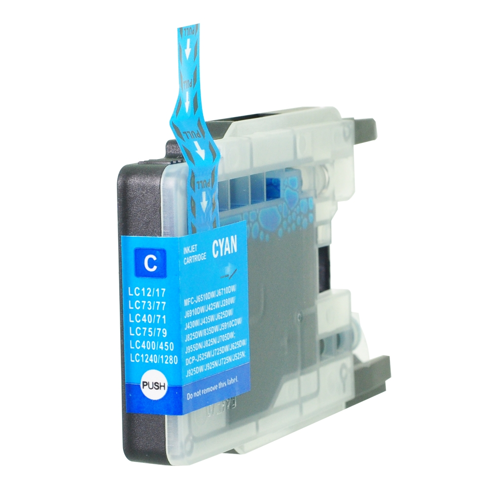 PWD - Cartridge Comp Brother LC1240C Cyan Ink Ctg also for LC1280C LC1220C [LC1240/1280C]